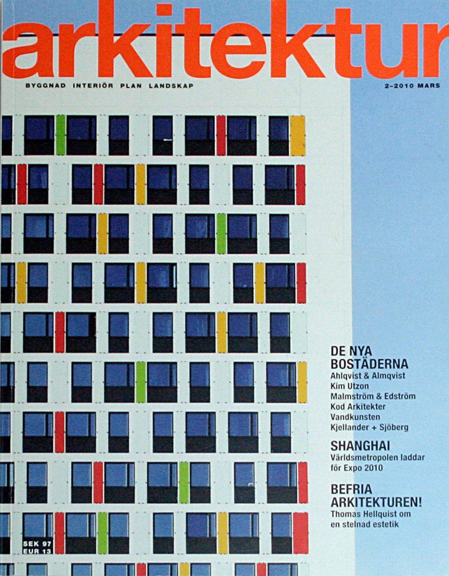 Arkitektur 2010 cover