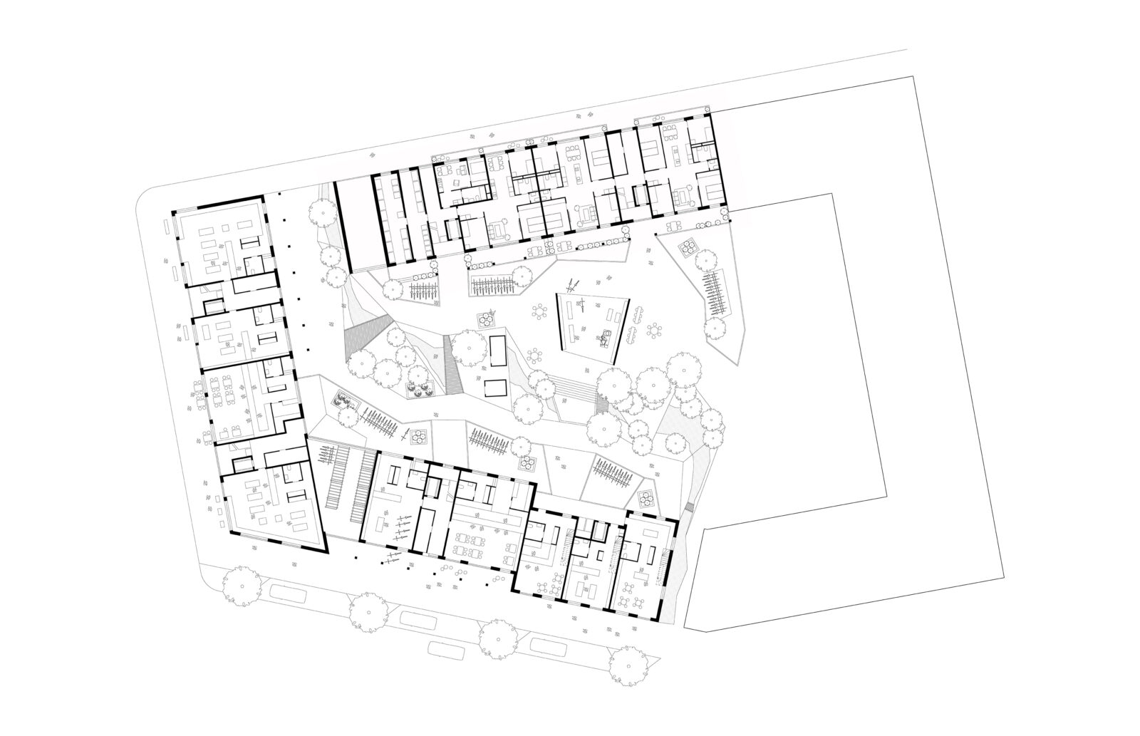 KjellanderSjoberg Woodhouse Rosendal Plan 01 3600x2324px