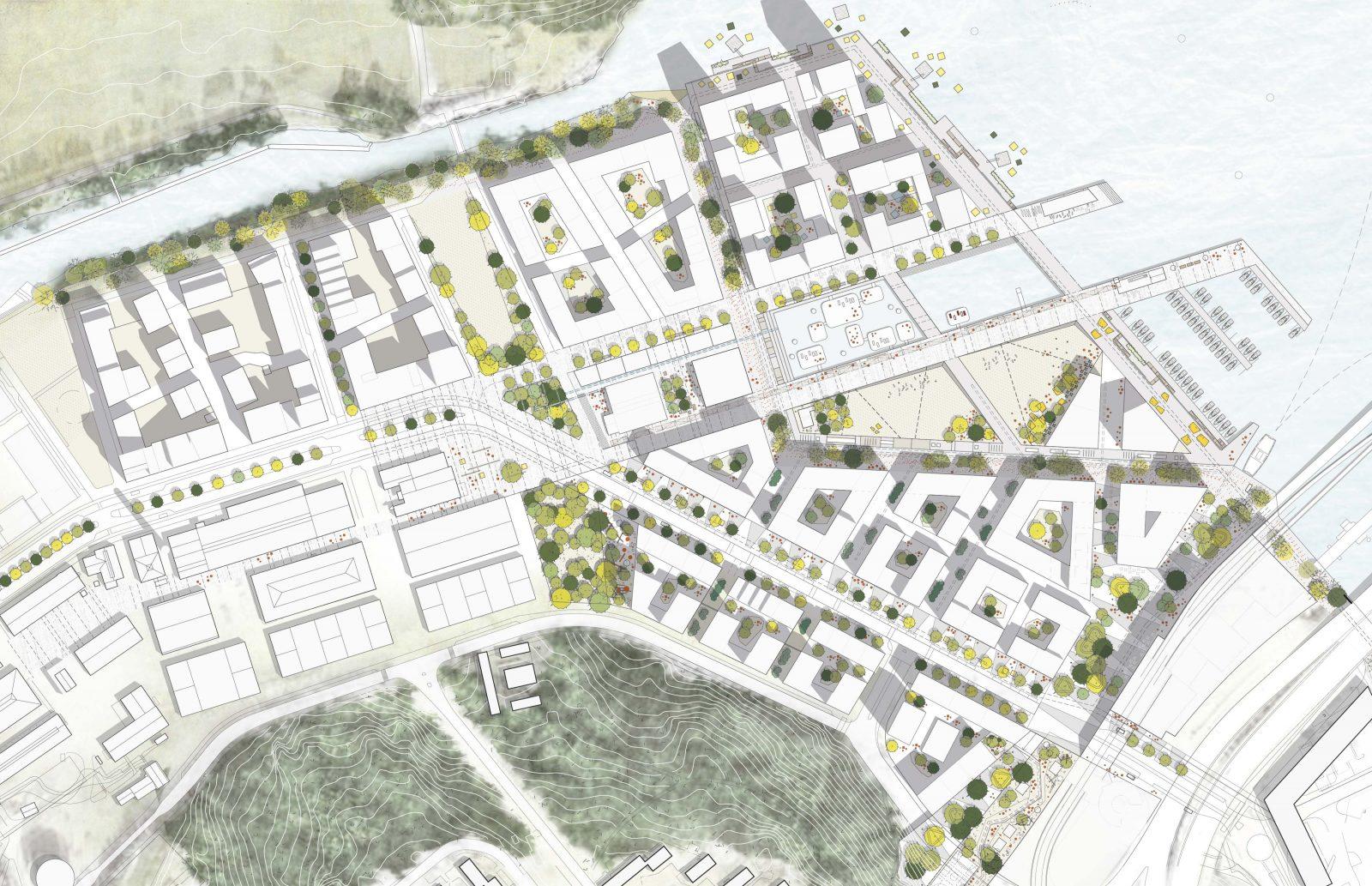 KjellanderSjoberg Kolkajen site-plan-2