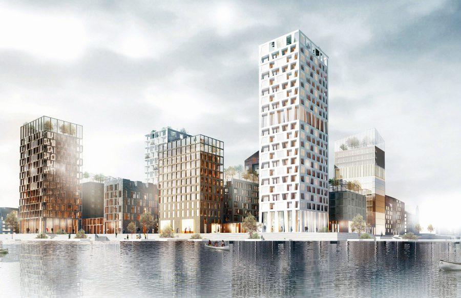 KjellanderSjoberg Kolkajen towers Vartablocks ret