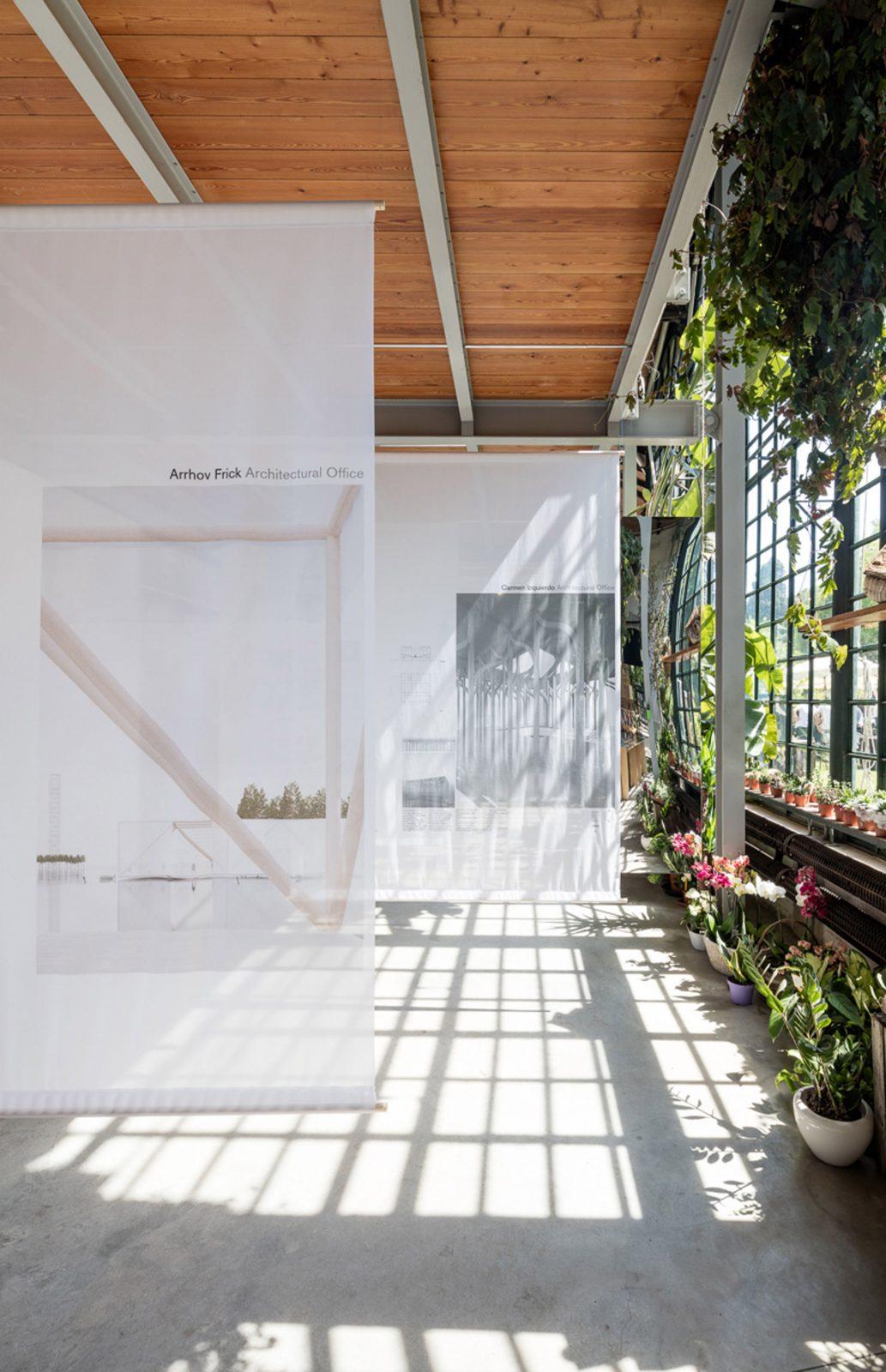 KjellanderSjoberg The Forests of Venice interior exhibition