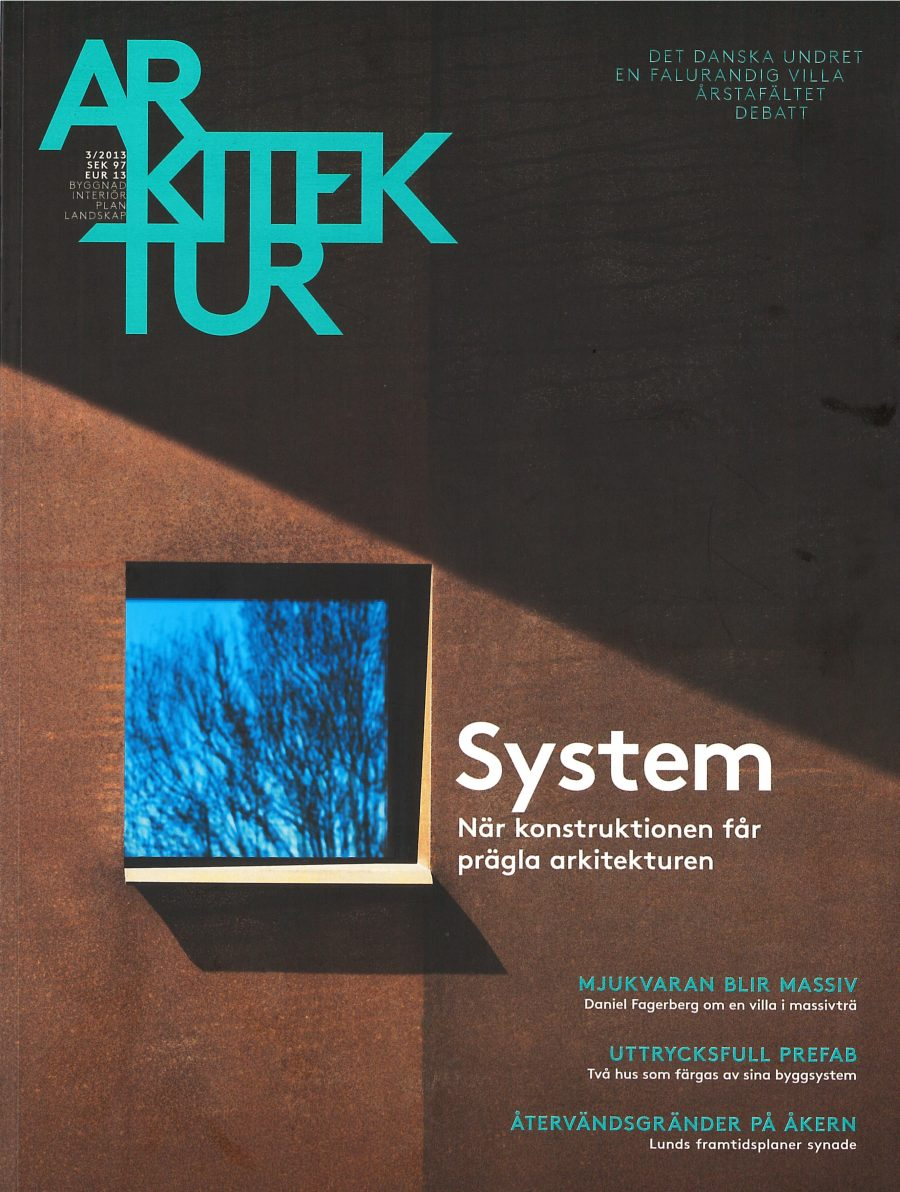 Arkitektur 2013 cover