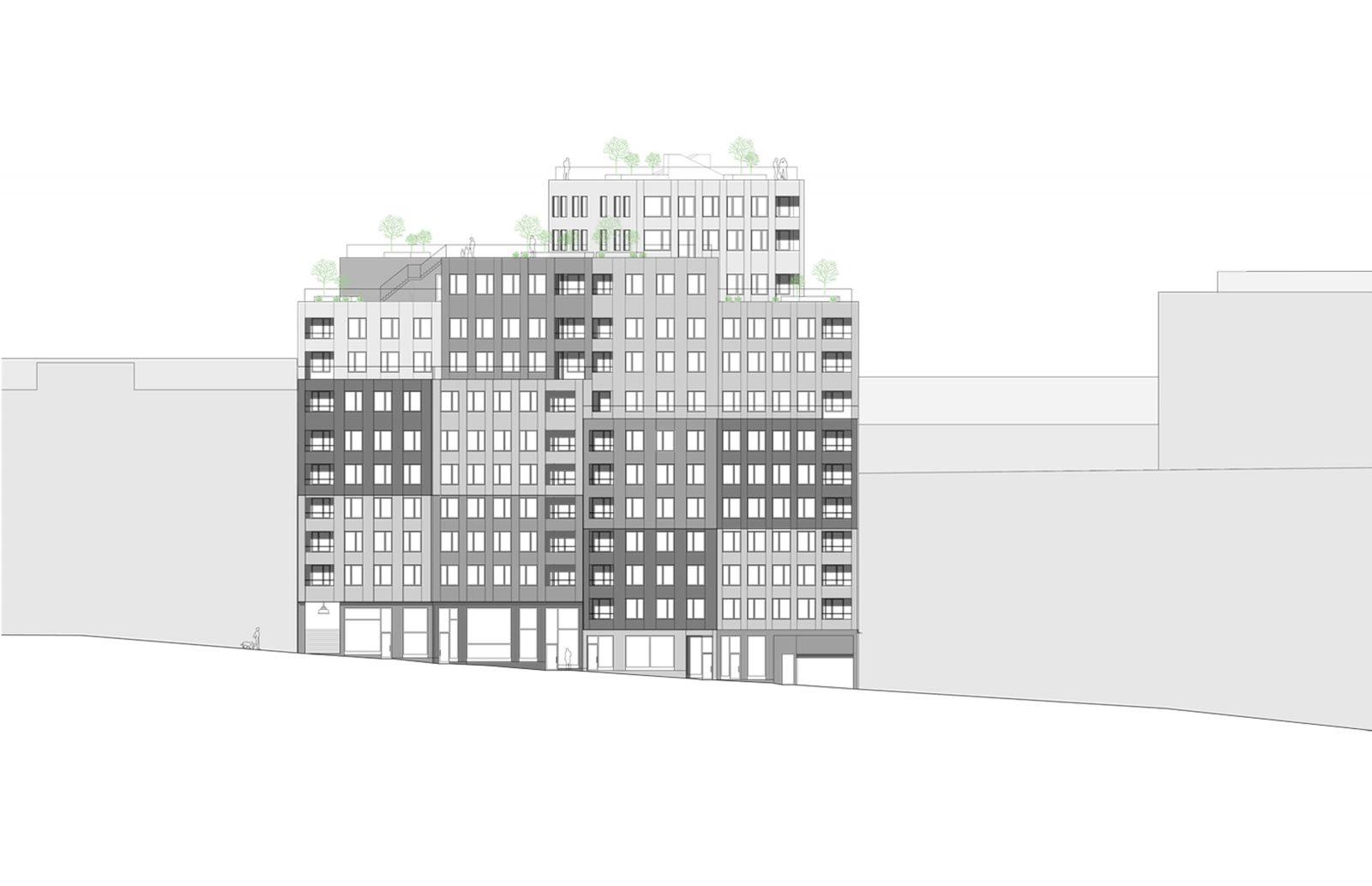 KjellanderSjoberg Etaget facade