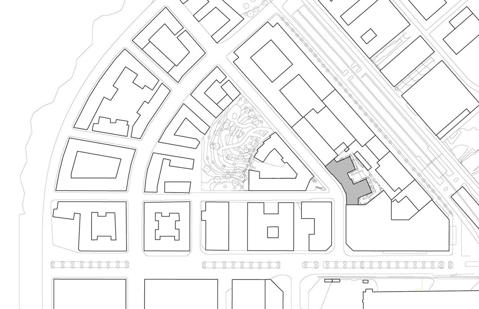 KjellanderSjoberg Etaget site-plan