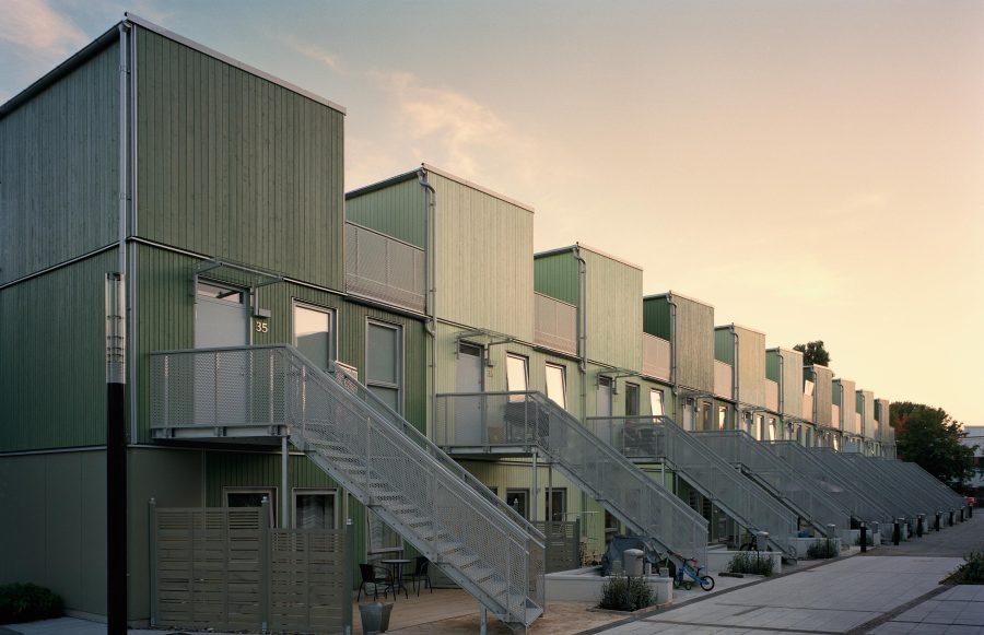 KjellanderSjoberg Fittja Terrace entrances