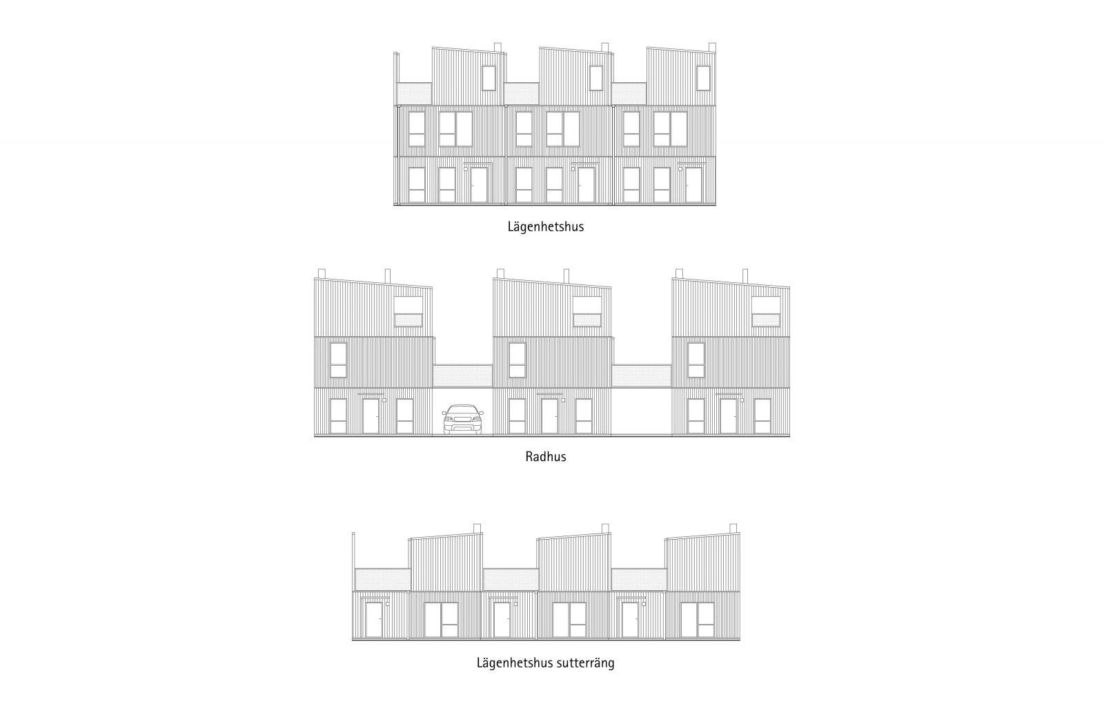 KjellanderSjoberg Fittja Terrace facades