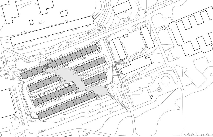 KjellanderSjoberg Fittja Terrace site-plan