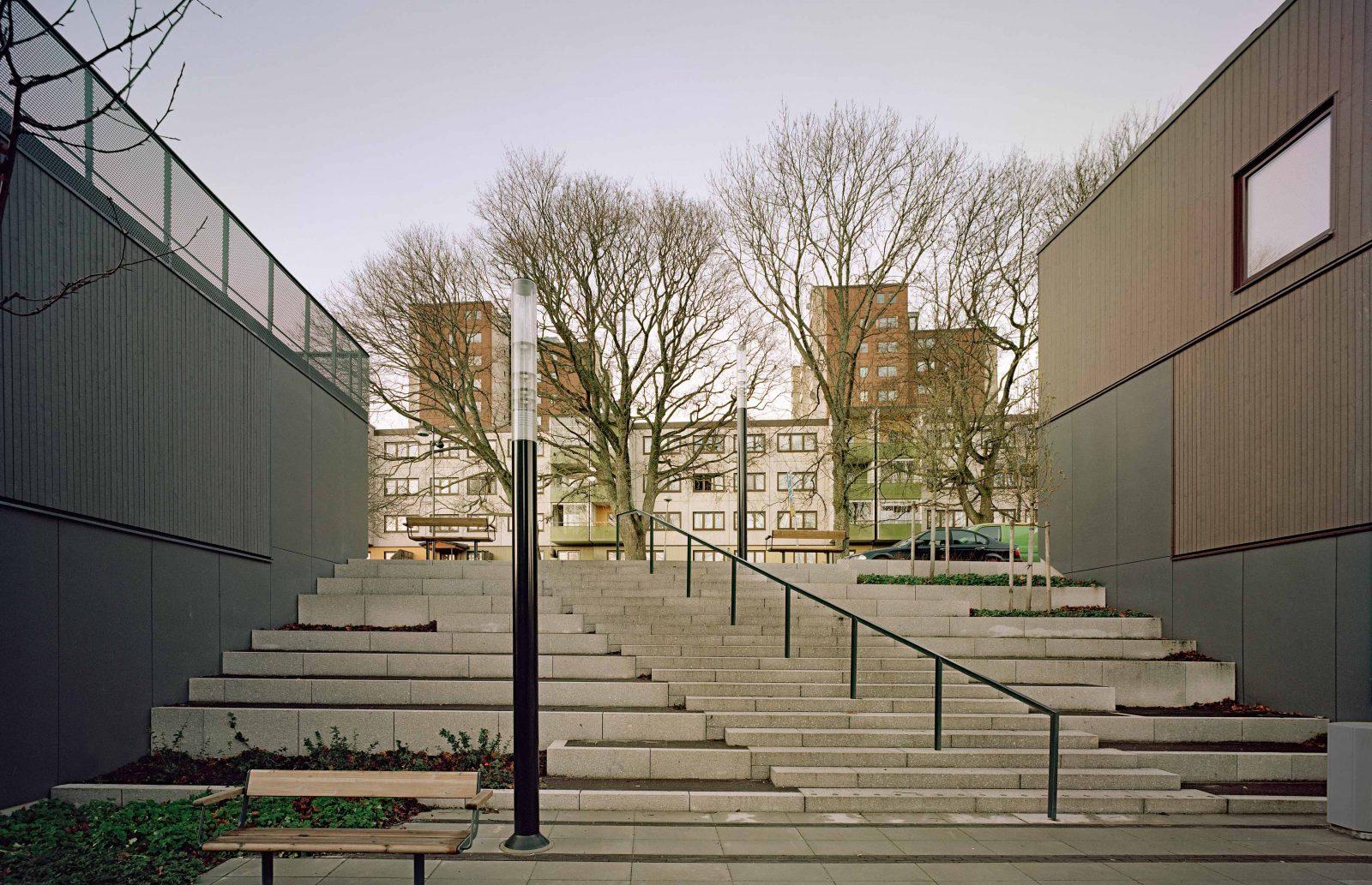 KjellanderSjoberg Fittja Terrace stairs