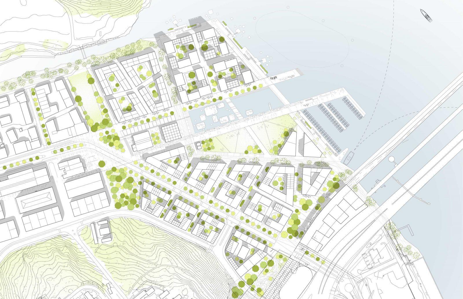 KjellanderSjoberg Kolkajen site-plan