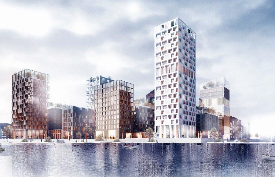 KjellanderSjoberg Kolkajen towers Vartablocks