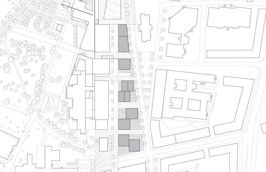 KjellanderSjoberg Living on the Wedge site-plan