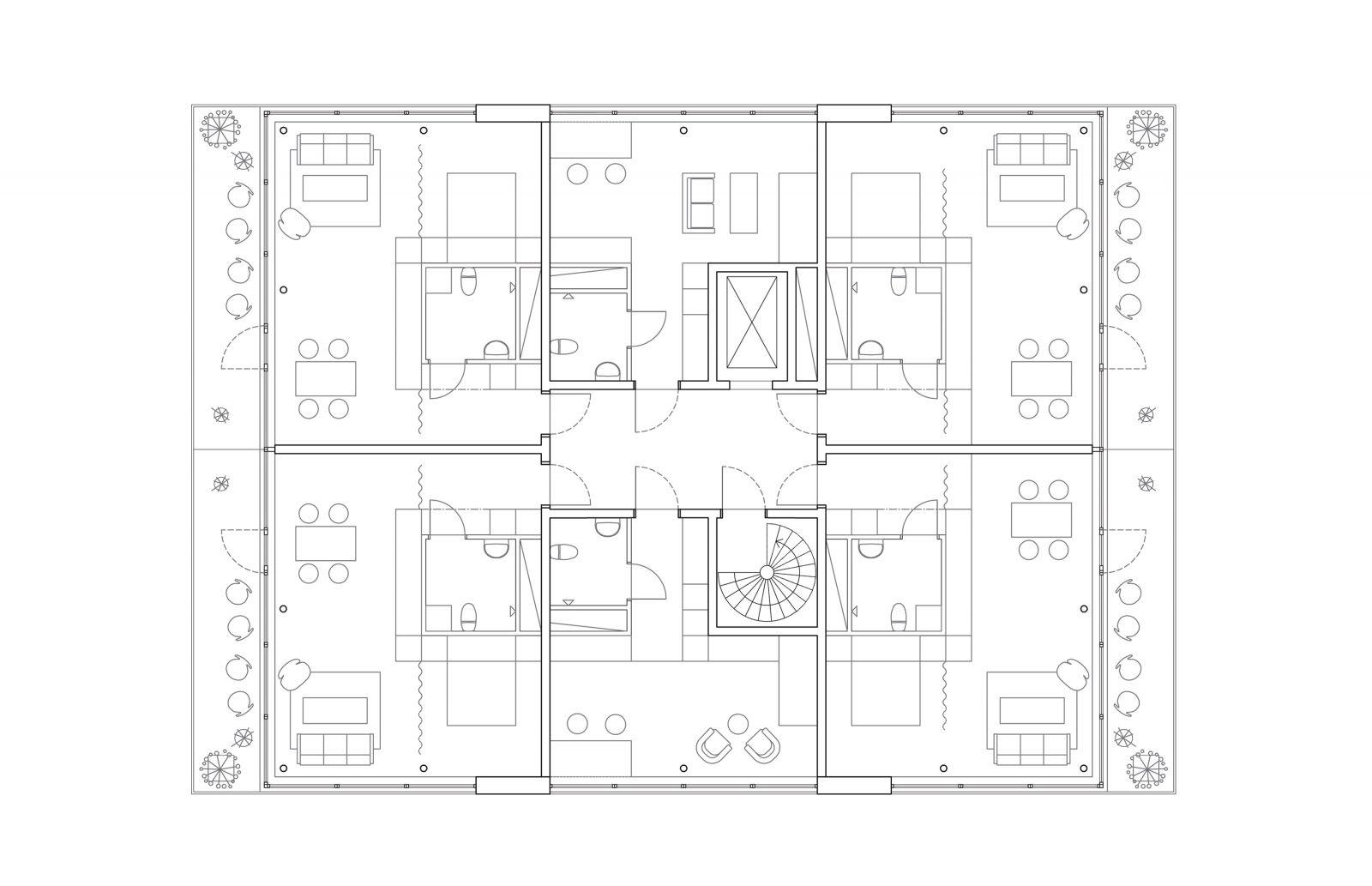 P:ProjektBergsbrantenAModellHus1 Typplan Model (1)
