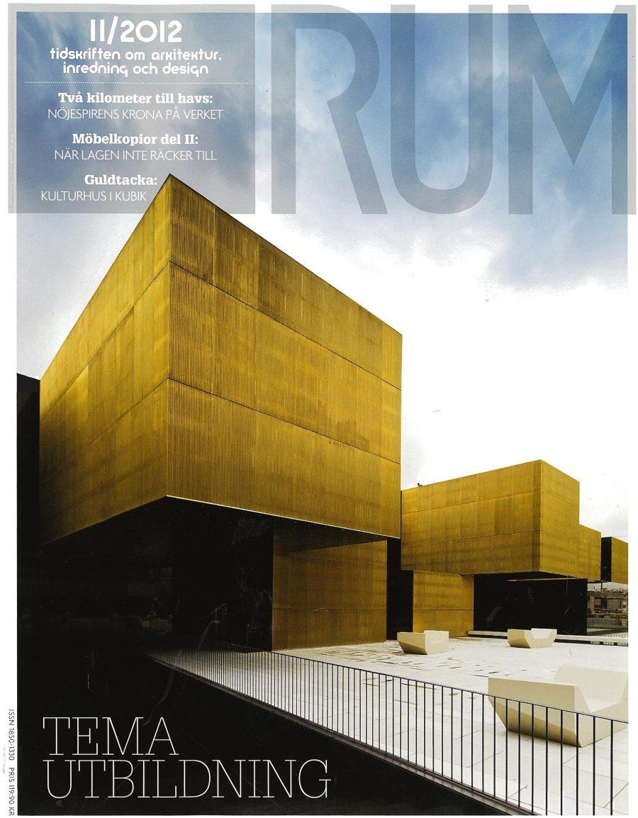 RUM 2012 cover