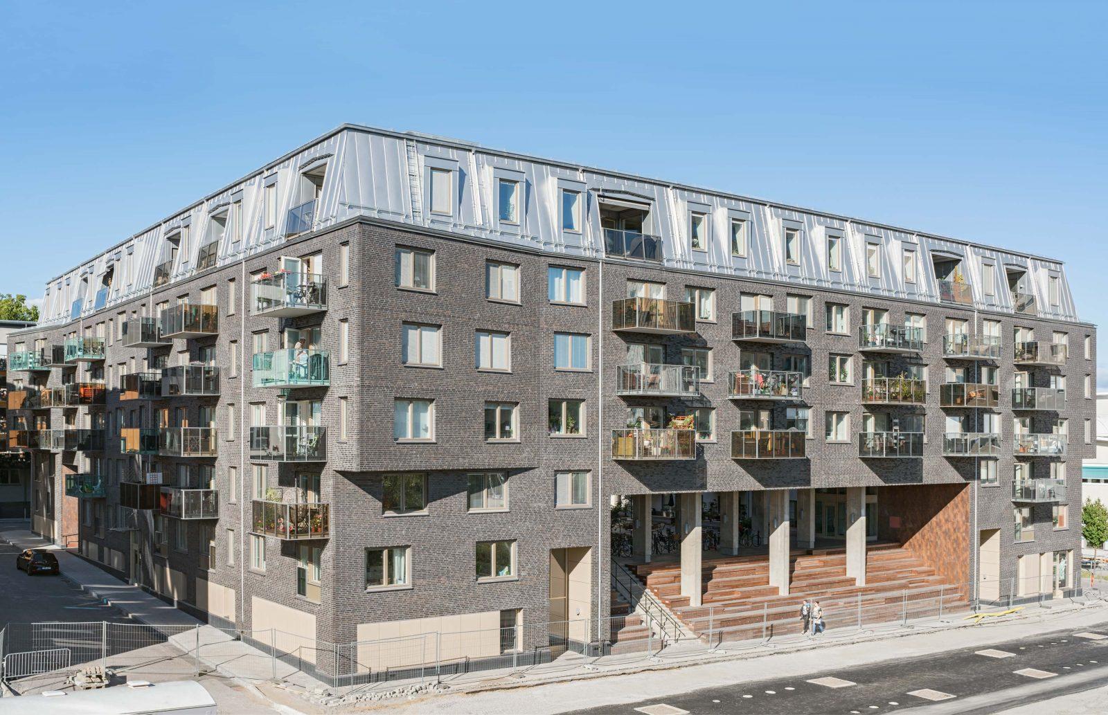 Kjellander Sjoberg Monoliten facade corner