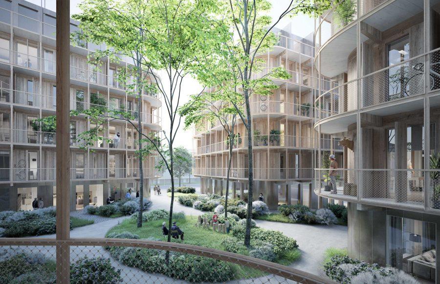 KjellanderSjoberg SalaBacke view-inner-courtyard