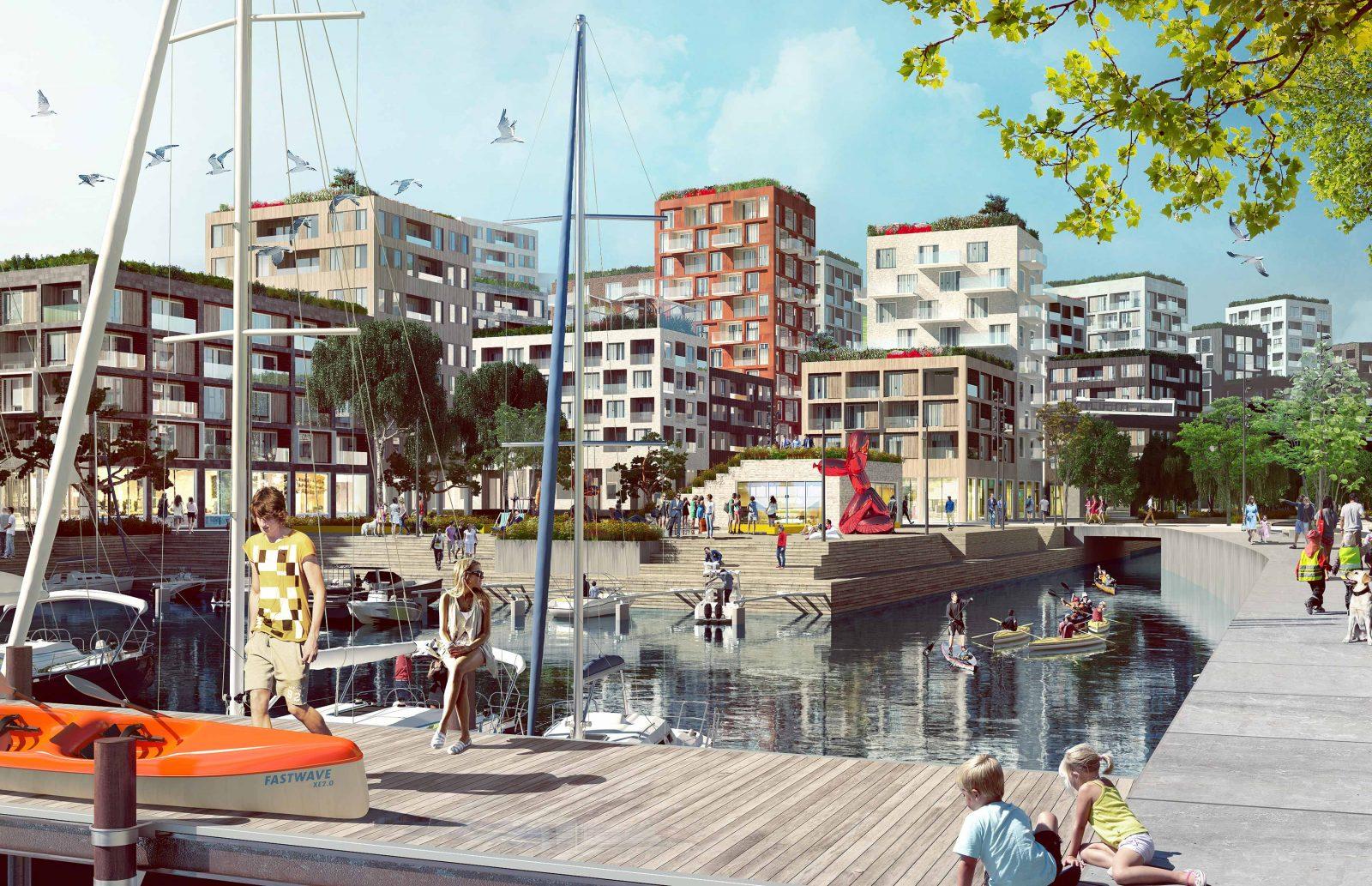 KjellanderSjoberg Hastholmssundet harbour