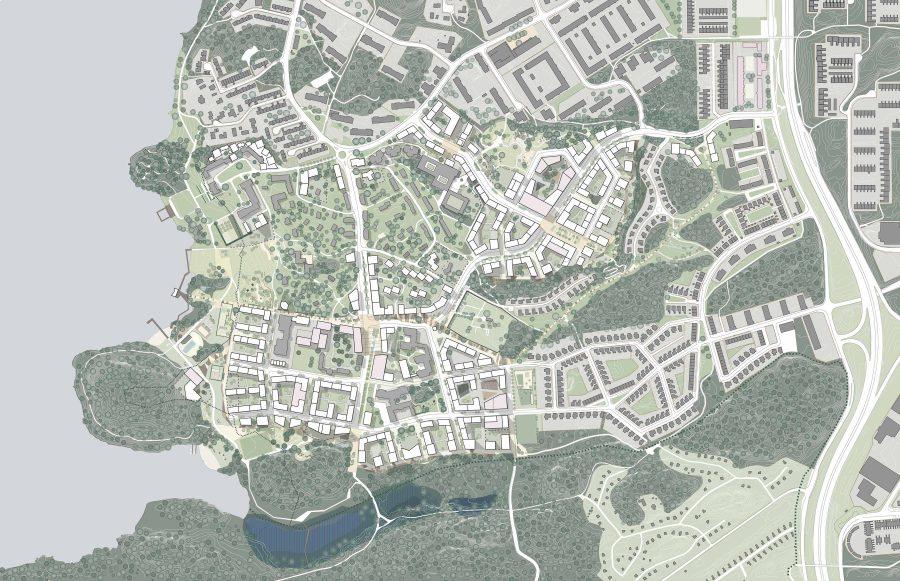 KjellanderSjöberg Stora-Sköndal Illustrationsplan-utan-gränser ny-riktning