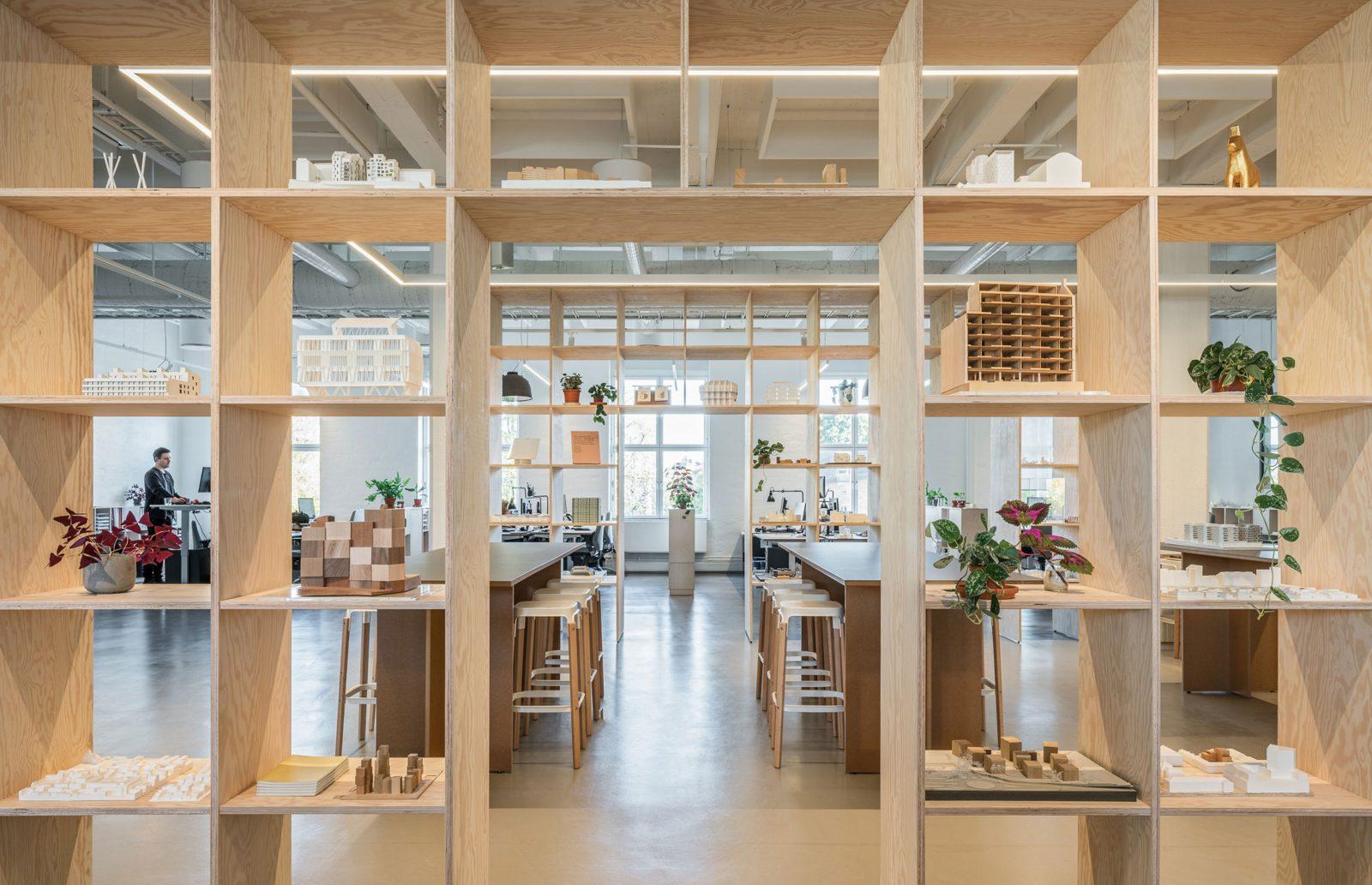 KjellanderSjoberg KS-Studio Wooden-shelves