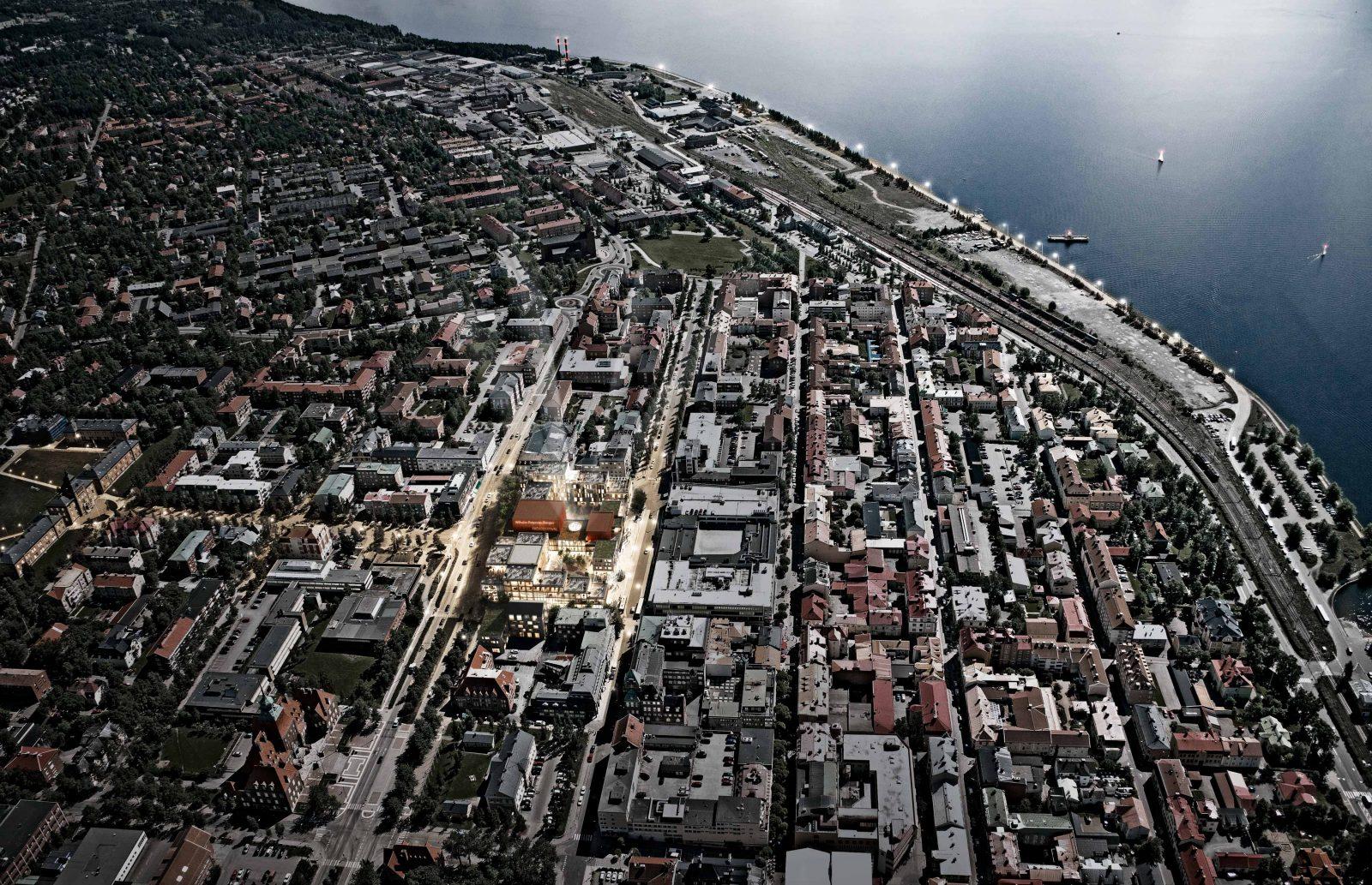 KjellanderSjoberg Ostersund aerial-view