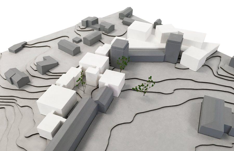 KjellanderSjöberg Högskolan StoraSköndal Modell detalj 3600x2324px