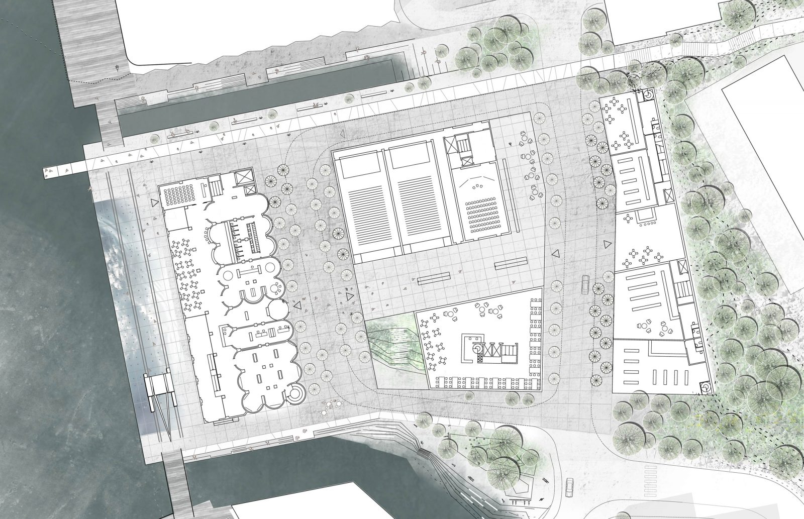 Kristiansand Floor-plan zoom-in