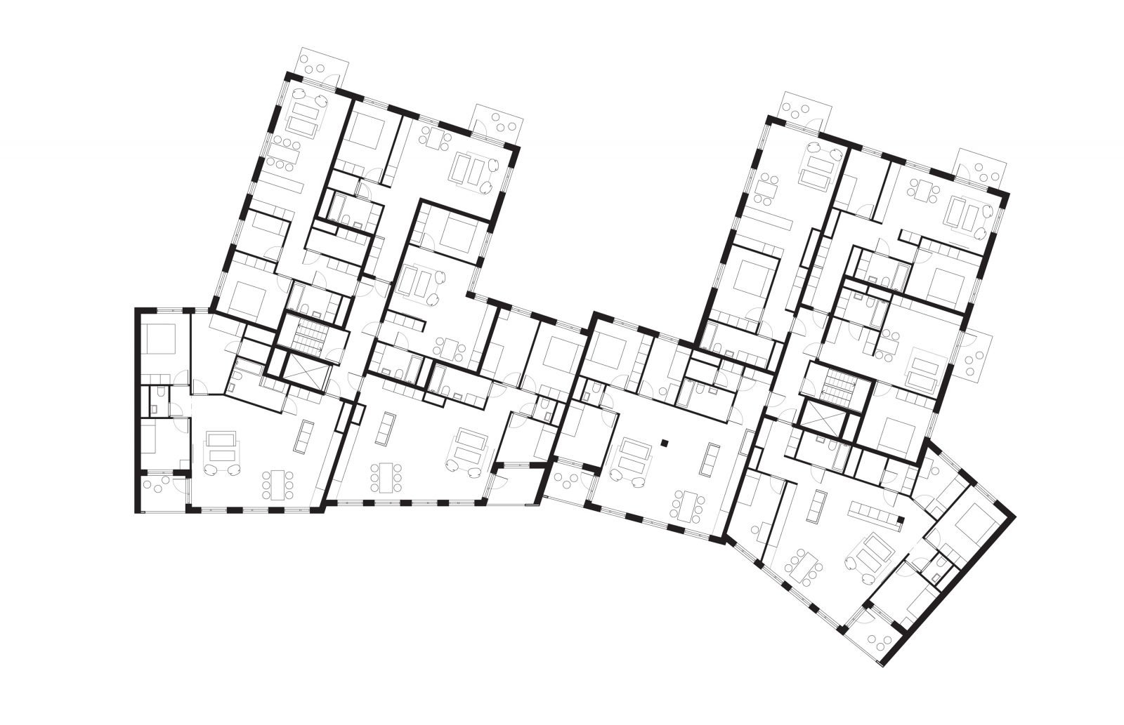 KjellanderSjoberg Etaget typical-plan