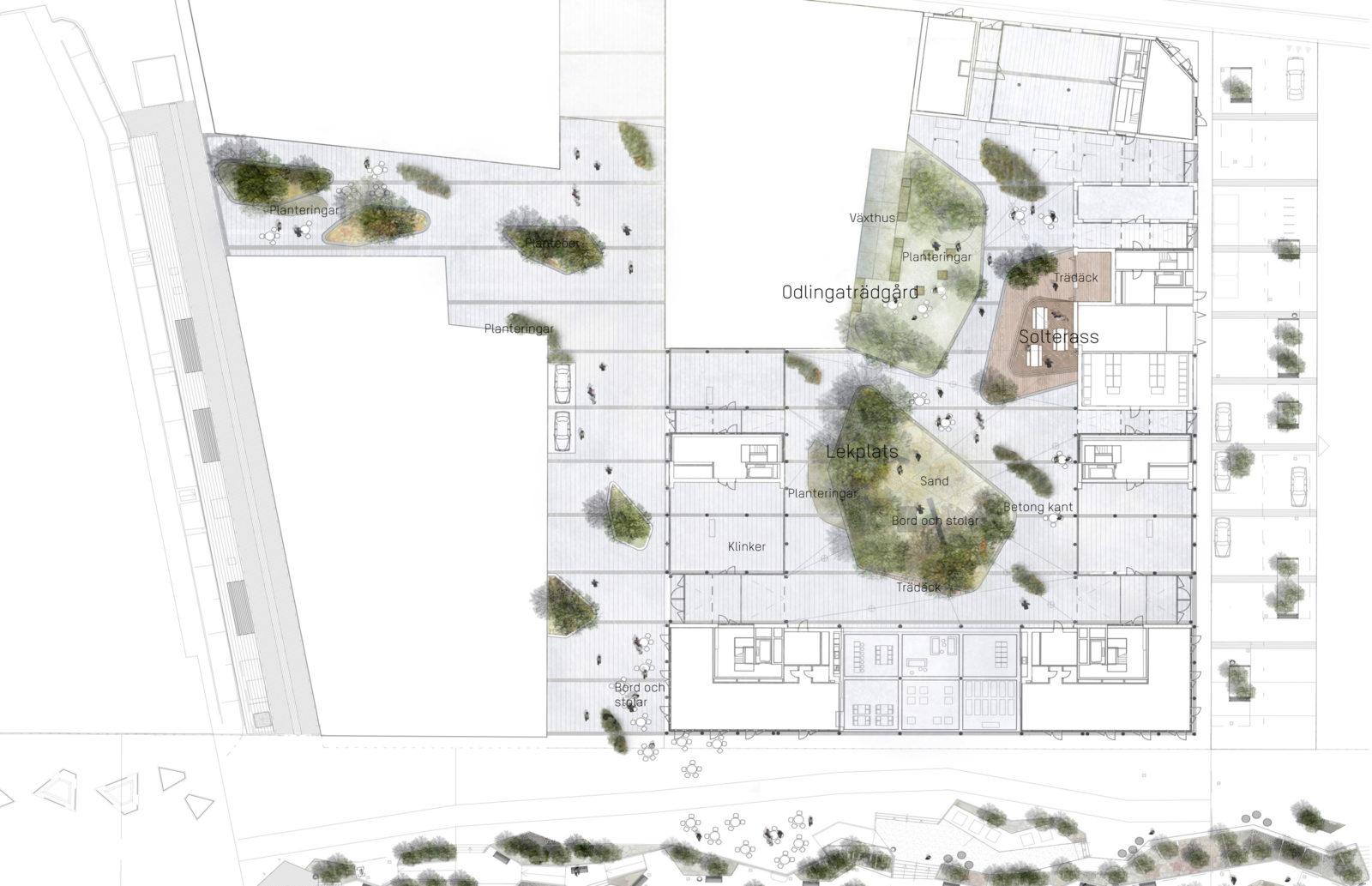 KjellanderSjoberg Citadellskajen situationsplan02 3600x2324px