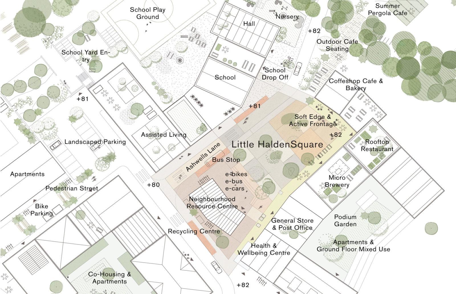 KjellanderSjoberg Little-Haldens Plan LittleHaldenSquare 3600x2324