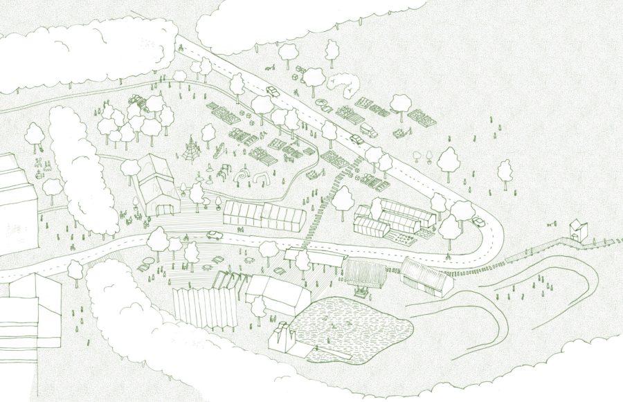KjellanderSjoberg Little-Haldens Sketch Sunny-Green-Square 3300x2324
