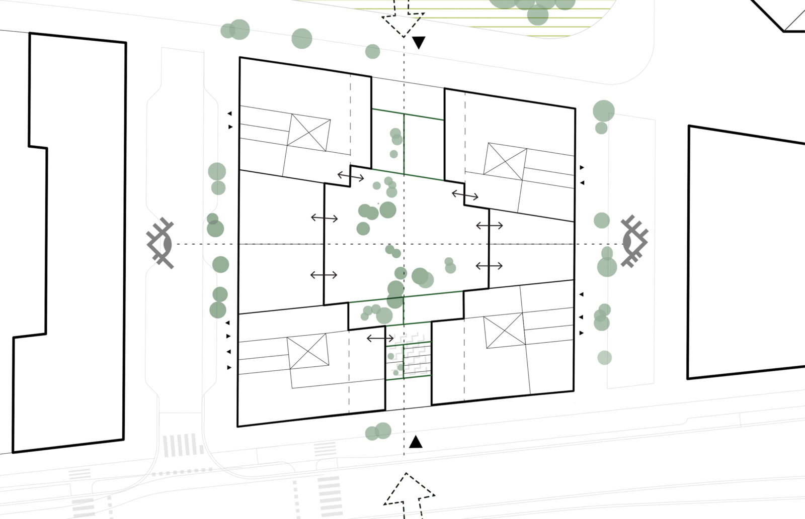 KjellanderSjoberg Ribosomen Site plan 01 3600x2324px