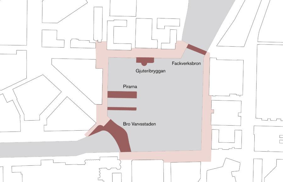 KjellanderSjoberg Bro Varvsstaden Diagram Site 01 3600x2324px