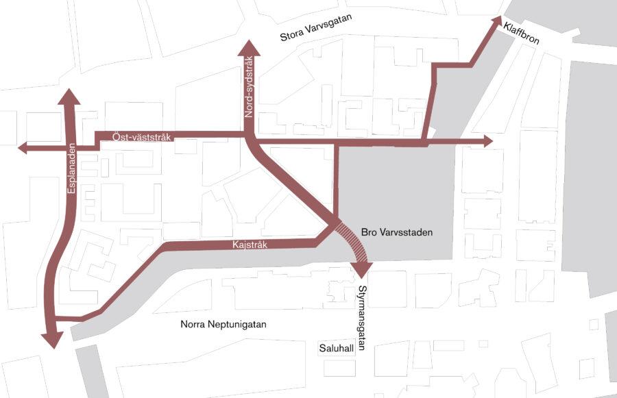 KjellanderSjoberg Bro Varvsstaden Diagram Site 02 3600x2324px