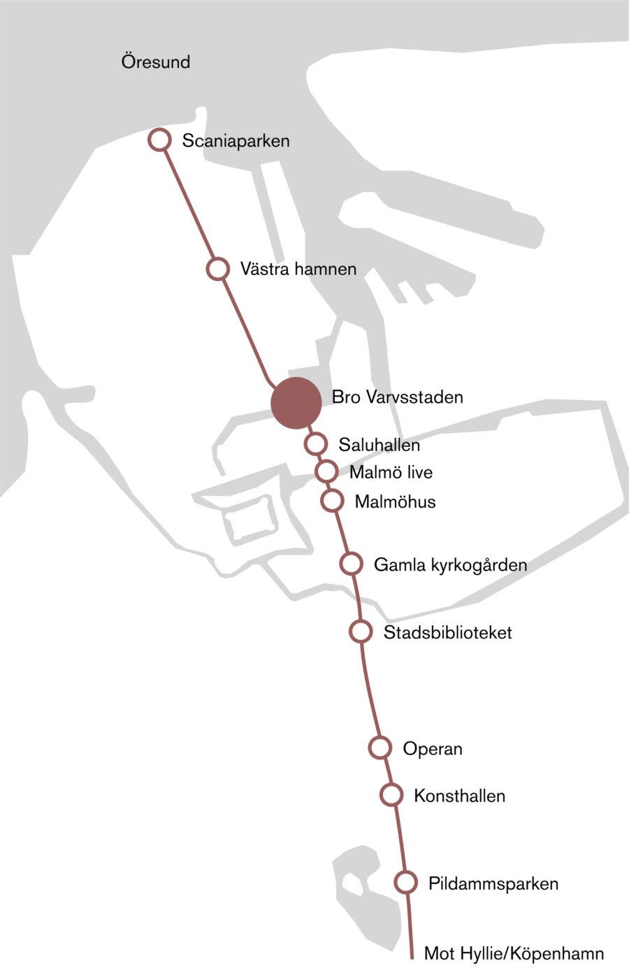 KjellanderSjoberg Bro Varvsstaden Diagram Site 03 3600x2324px