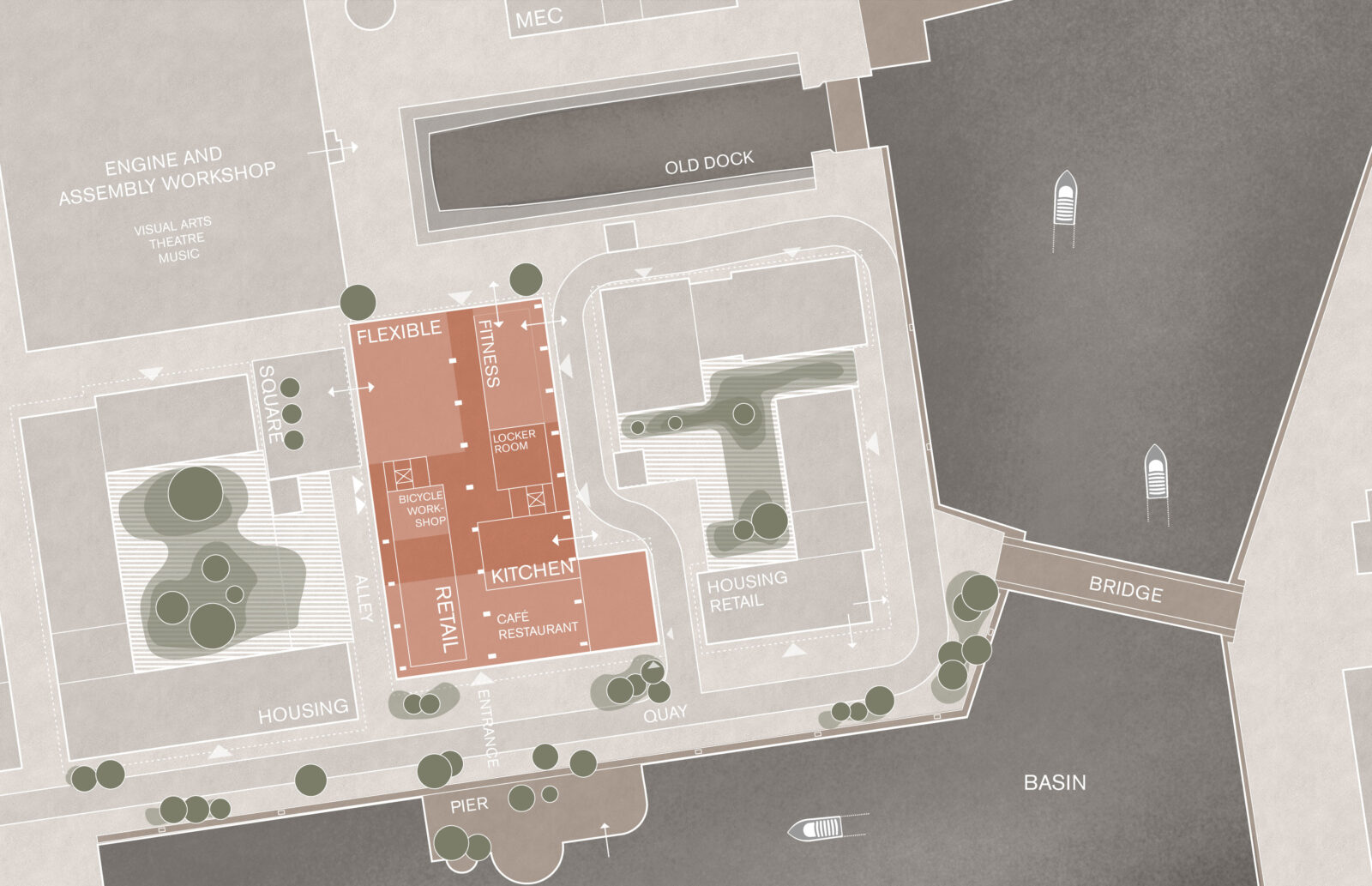 KjellanderSjoberg Gjuteriet Site-plan Eng 3600x2324px